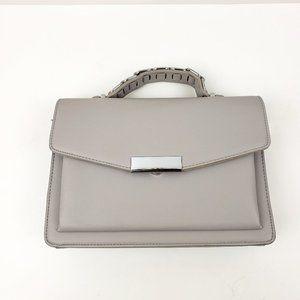 Miztique Gray Top Handle Convertible Bag